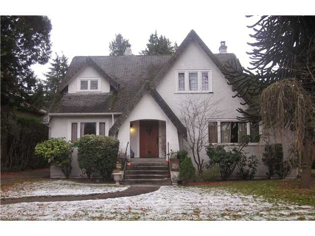 Main Photo: 6168 CHURCHILL Street in Vancouver: South Granville House for sale (Vancouver West)  : MLS(r) # V920983