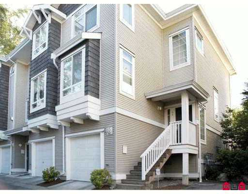 Main Photo: 34 15030 58 in Surrey: Townhouse for sale : MLS® # F2614899