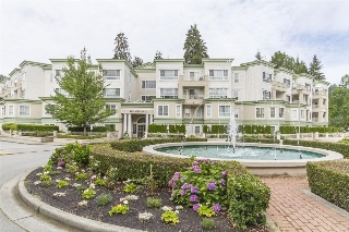 "Main Photo: 201 2960 PRINCESS Crescent in Coquitlam: Canyon Springs Condo for sale in ""THE JEFFERSON"" : MLS(r) # R2082440"