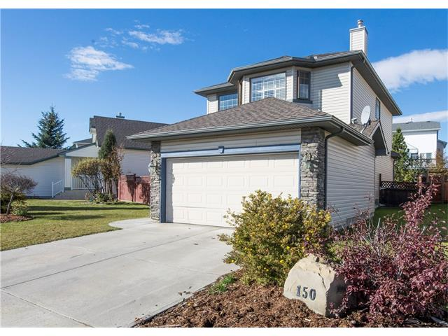 Main Photo: 150 BRIDLECREEK Park SW in Calgary: Bridlewood House for sale : MLS(r) # C4086800