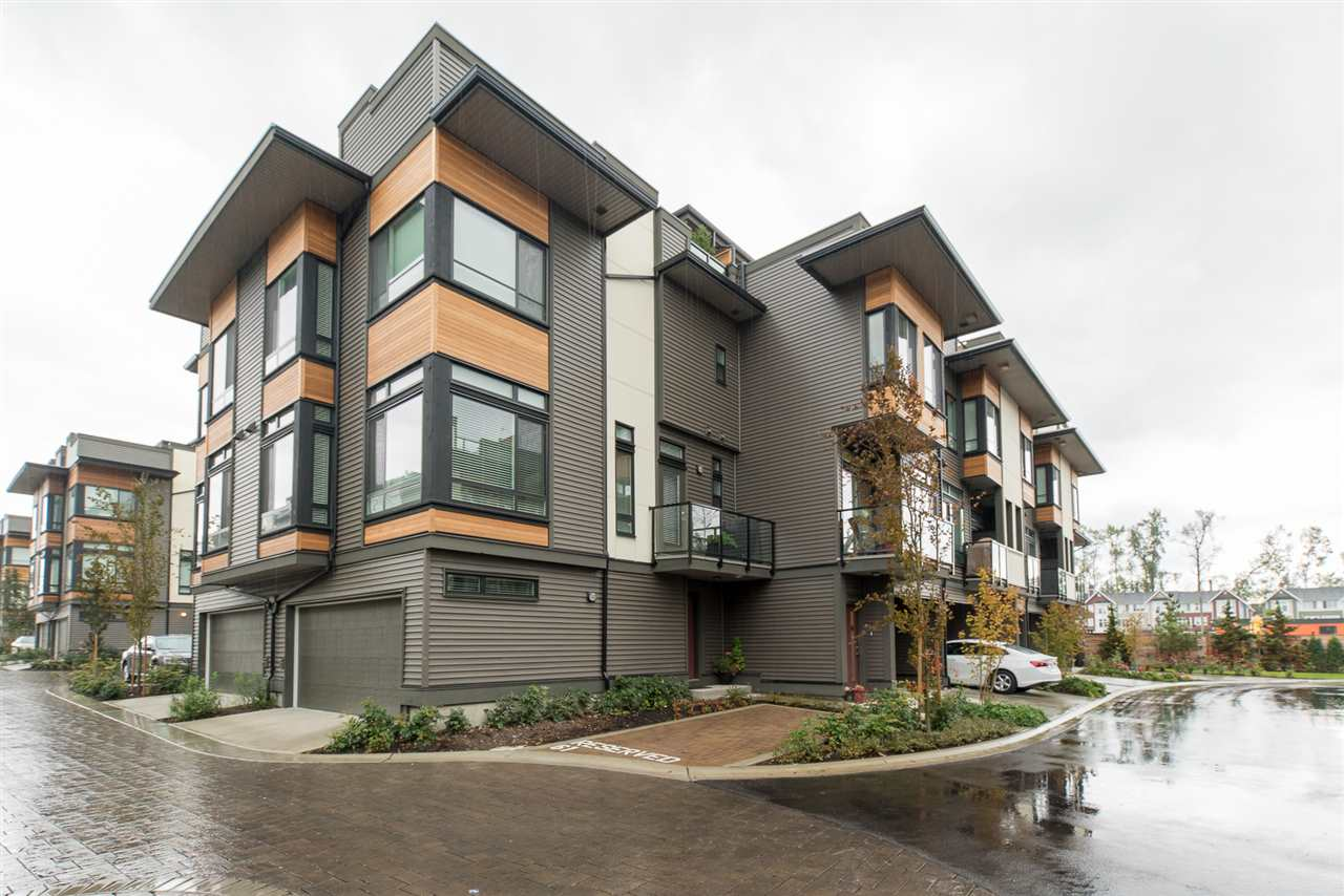 "Main Photo: 60 7811 209 Street in Langley: Willoughby Heights Townhouse for sale in ""Exchange"" : MLS®# R2124941"