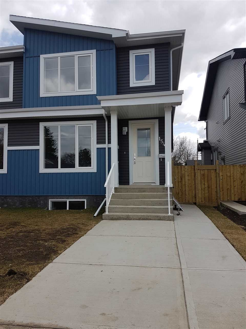 Main Photo: 15413 95 Avenue in Edmonton: Zone 22 House Half Duplex for sale : MLS(r) # E4062130