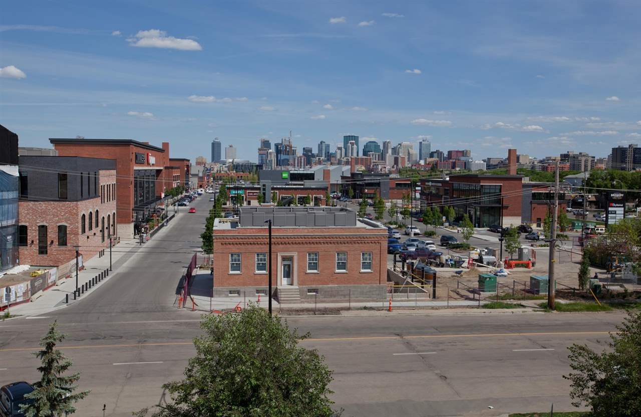 Great view looking east over the new Brewery District. Everything you need is just steps away!