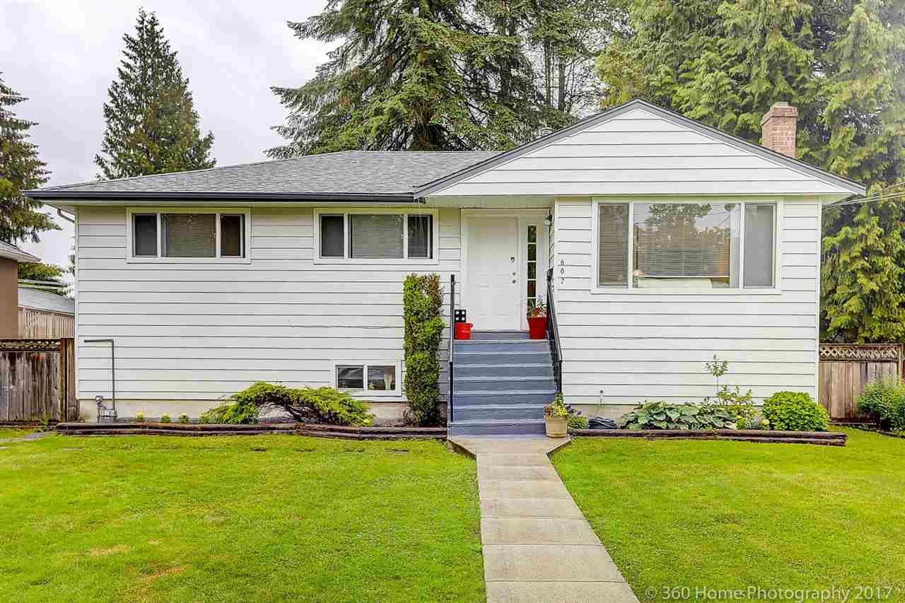 Main Photo: 607 COLINET Street in Coquitlam: Central Coquitlam House for sale : MLS(r) # R2179394