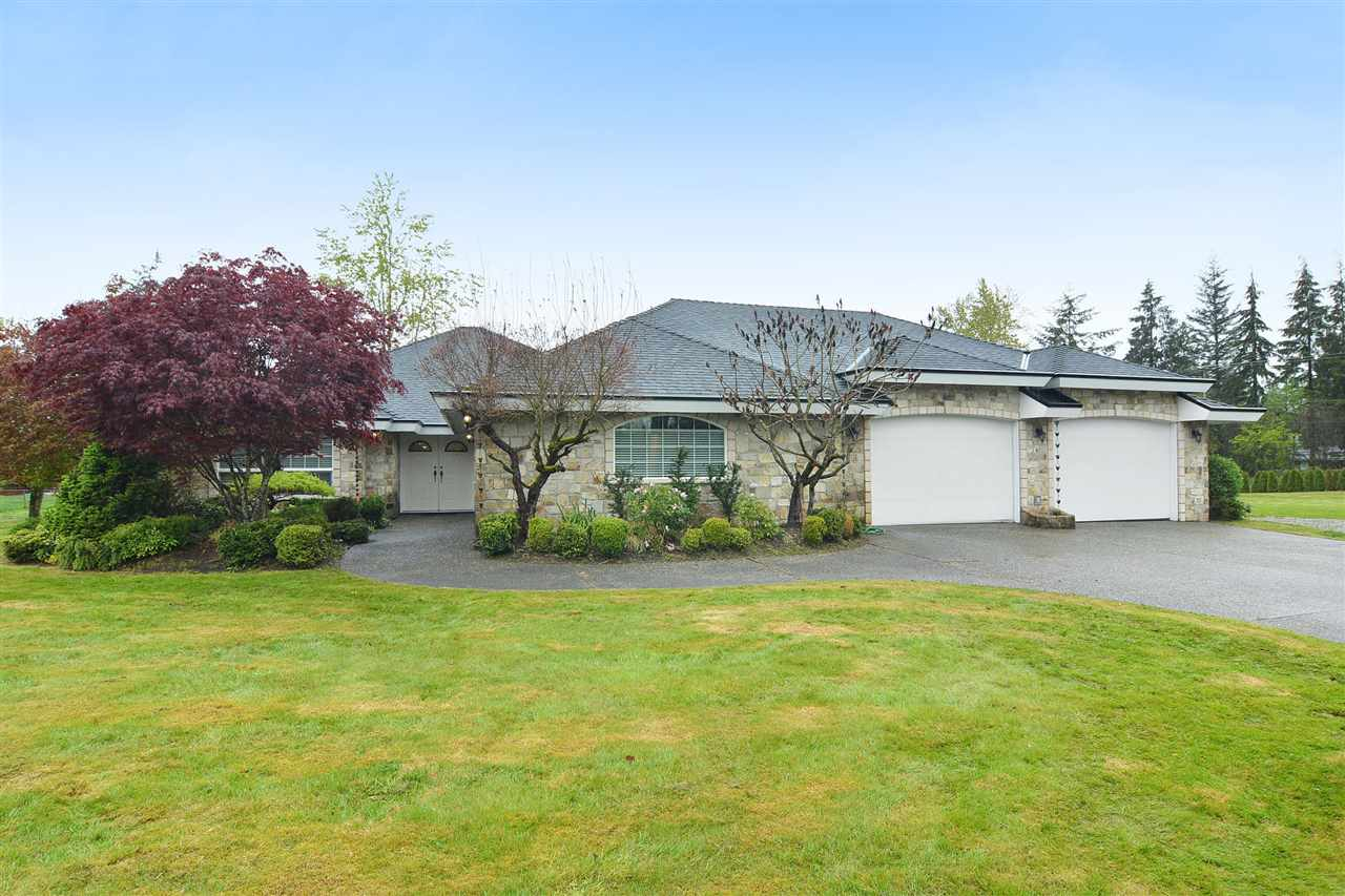 "Main Photo: 5553 256 Street in Langley: Salmon River House for sale in ""SALMON RIVER"" : MLS® # R2204047"