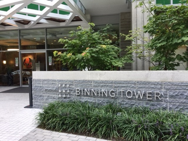 "Main Photo: 707 3355 BINNING Road in Vancouver: University VW Condo for sale in ""binning tower"" (Vancouver West)  : MLS® # R2208492"