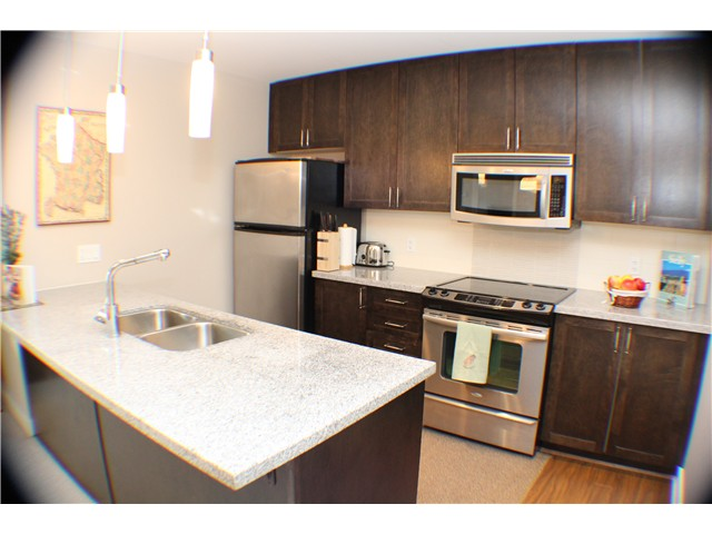 "Photo 2: 407 2368 MARPOLE Avenue in Port Coquitlam: Central Pt Coquitlam Condo for sale in ""RIVER ROCK LANDING"" : MLS® # V1053124"