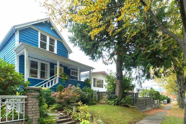 Main Photo: 4379 WELWYN Street in Vancouver: Victoria VE House for sale (Vancouver East)  : MLS® # R2162079