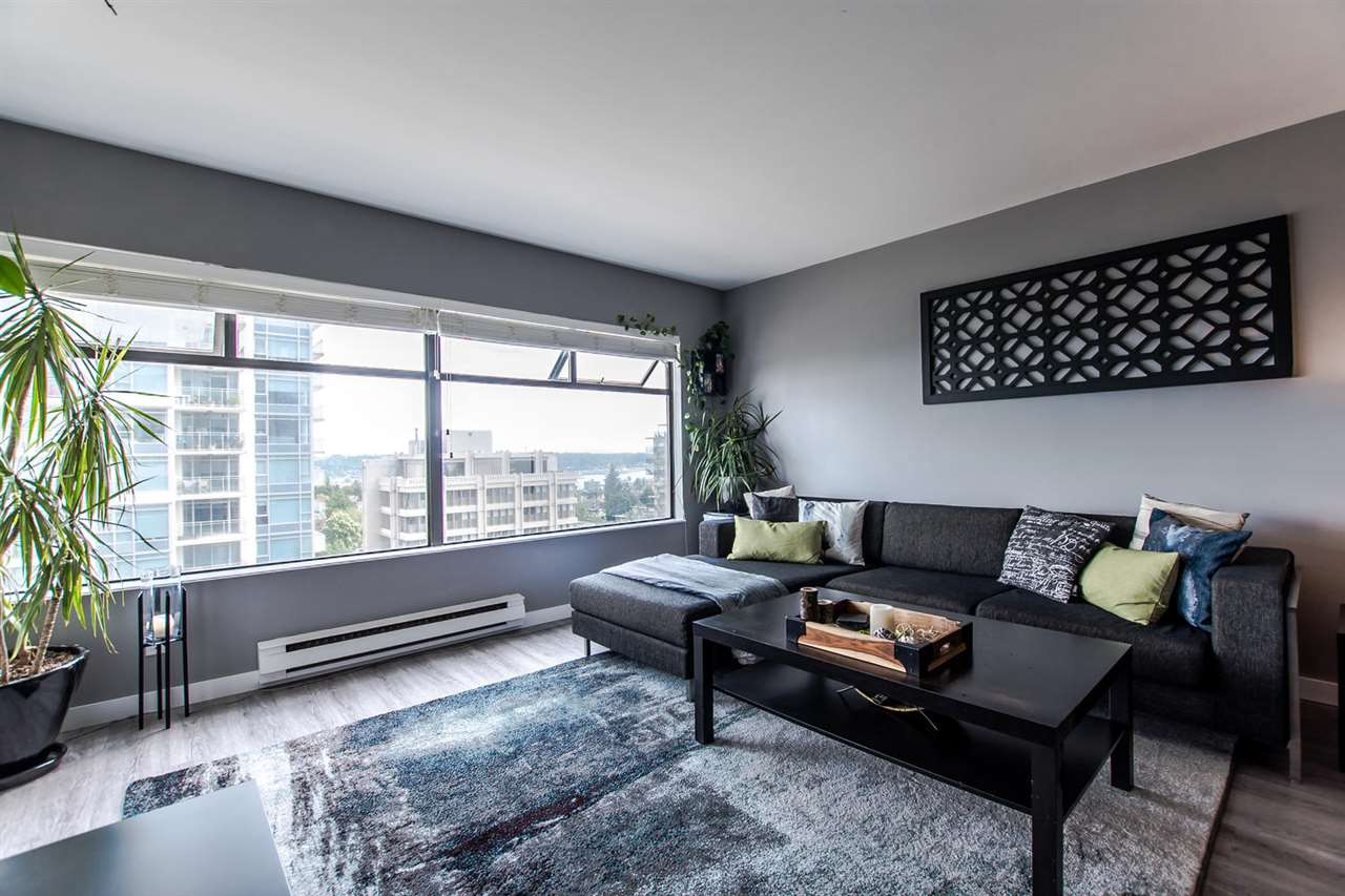 Main Photo: 906 615 BELMONT Street in New Westminster: Uptown NW Condo for sale : MLS® # R2168866