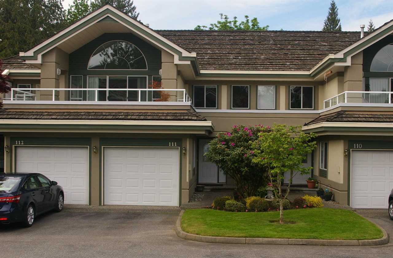 "Main Photo: 111 4001 OLD CLAYBURN Road in Abbotsford: Abbotsford East Townhouse for sale in ""Cedar Springs"" : MLS(r) # R2175738"