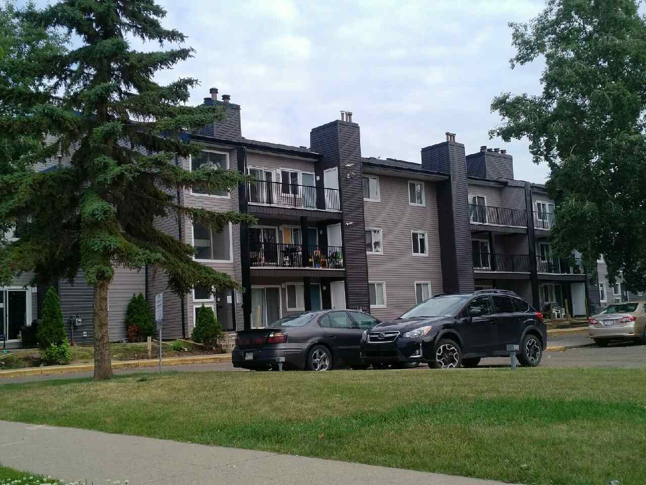 Sample photo of new balconies and exterior (sample from adjacent building)