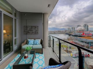 "Main Photo: 602 1625 MANITOBA Street in Vancouver: False Creek Condo for sale in ""Shoreline at the Village on False Creek"" (Vancouver West)  : MLS® # R2244341"
