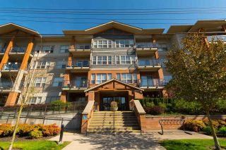"Main Photo: 203 20219 54A Avenue in Langley: Langley City Condo for sale in ""SUEDE"" : MLS®# R2260694"