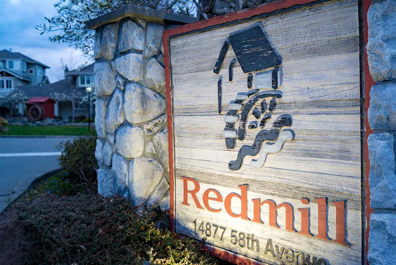 "Main Photo: 17 14877 58 Avenue in Surrey: Sullivan Station Townhouse for sale in ""Redmill"" : MLS®# R2268410"