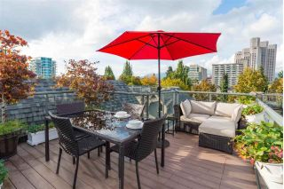 "Main Photo: 3033 LAUREL Street in Vancouver: Fairview VW Townhouse for sale in ""Fairview Court"" (Vancouver West)  : MLS®# R2305636"