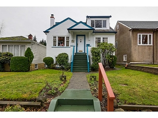 Main Photo: 4368 W 15TH Avenue in Vancouver: Point Grey House for sale (Vancouver West)  : MLS®# V1101227