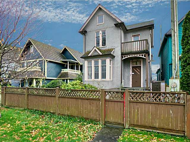 Main Photo: 320 UNION Street in Vancouver: Mount Pleasant VE House for sale (Vancouver East)  : MLS® # V1125795