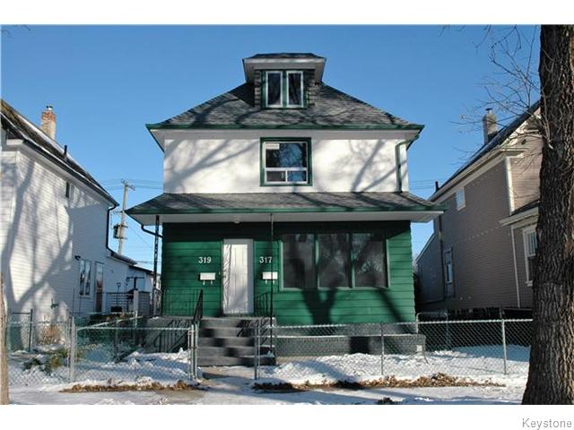 Main Photo: 319 Atlantic Avenue in WINNIPEG: North End Residential for sale (North West Winnipeg)  : MLS® # 1531046