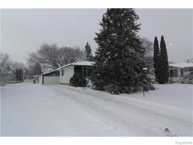 Main Photo: 406 Rouge Road in WINNIPEG: Westwood / Crestview Residential for sale (West Winnipeg)  : MLS® # 1600454