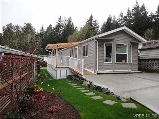 Main Photo: 28 5838 Blythwood Road in SOOKE: Sk Saseenos Manu Single-Wide for sale (Sooke)  : MLS® # 369084
