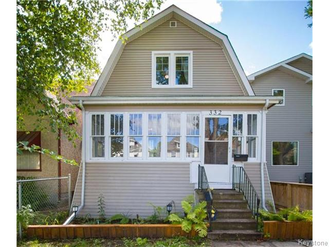 Main Photo: 332 Machray Avenue in Winnipeg: Sinclair Park Residential for sale (4C)  : MLS® # 1624346