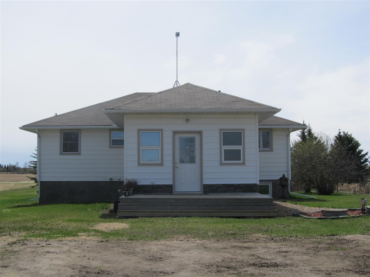 Main Photo: RR212 Hwy 18: Rural Thorhild County House for sale : MLS(r) # E4063068