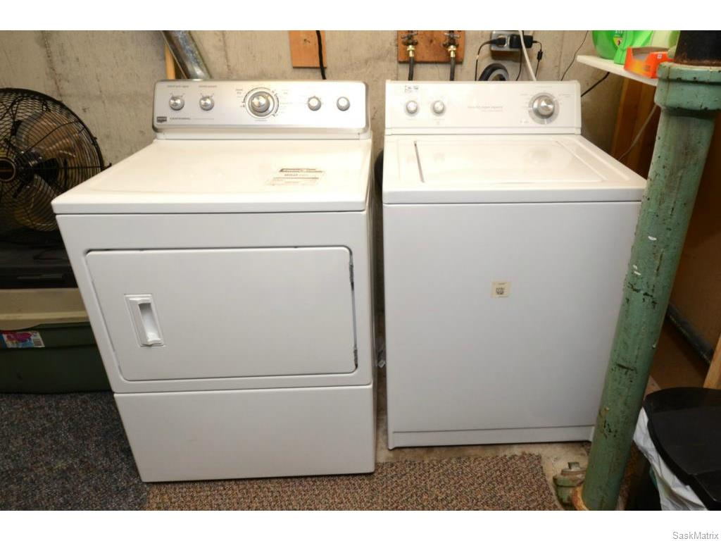 Basement suite laundry