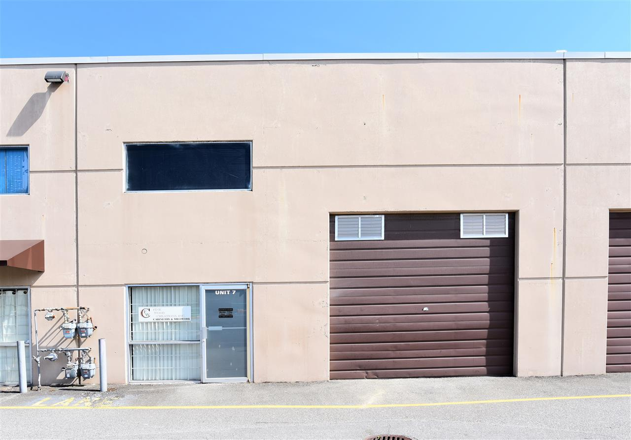 Main Photo: 7 3275 MCCALLUM Road in Abbotsford: Central Abbotsford Industrial for sale : MLS(r) # C8012826