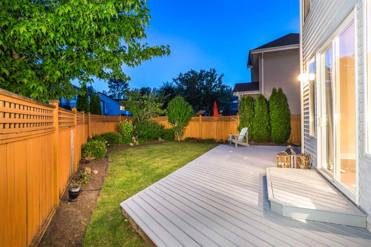 Entertain guests in your gorgeous backyard