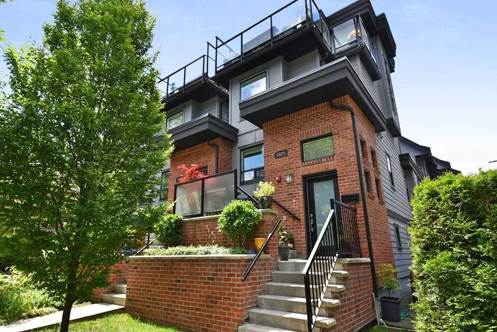 "Main Photo: 3323 WINDSOR Street in Vancouver: Fraser VE Townhouse for sale in ""THE NINE"" (Vancouver East)  : MLS®# R2286625"