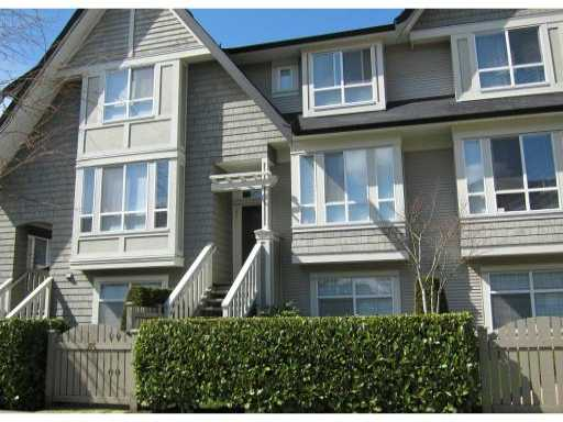Main Photo: 85 9133 SILLS Avenue in Richmond: McLennan North Townhouse for sale : MLS® # V881150
