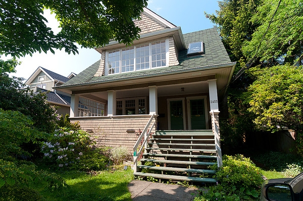Main Photo: 2455 W 7TH Avenue in Vancouver: Kitsilano House for sale (Vancouver West)  : MLS® # V891091