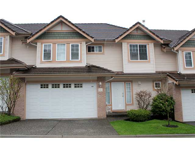Main Photo: 32 1751 Paddock Street in Coquitlam: Westwood Plateau Townhouse for sale : MLS®# v1000342