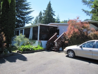"Main Photo: 96 10221 WILSON Street in Mission: Stave Falls Manufactured Home for sale in ""TRIPLE CREEK MOBILE HOME PARK"" : MLS®# F1326633"