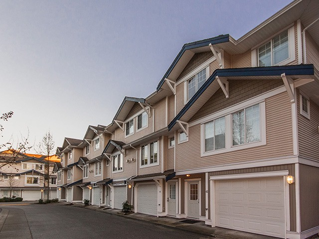 "Main Photo: 42 6533 121 Street in Surrey: West Newton Townhouse for sale in ""Stonebriar"" : MLS®# F1401608"