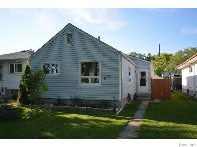 Main Photo: Ravelston Avenue East in Winnipeg: Residential for sale : MLS® # 1518707