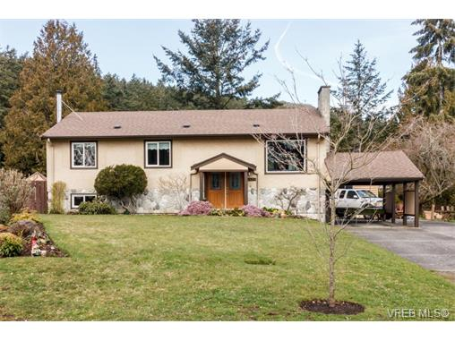 Main Photo: 1454 Jamaica Road in VICTORIA: SE Mt Doug Single Family Detached for sale (Saanich East)  : MLS® # 375161