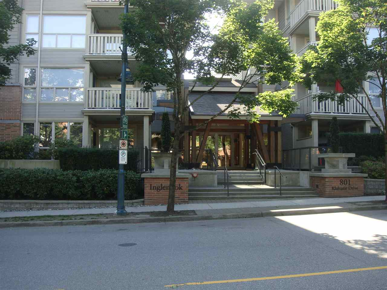 Main Photo: 201 801 KLAHANIE Drive in Port Moody: Port Moody Centre Condo for sale : MLS(r) # R2181917