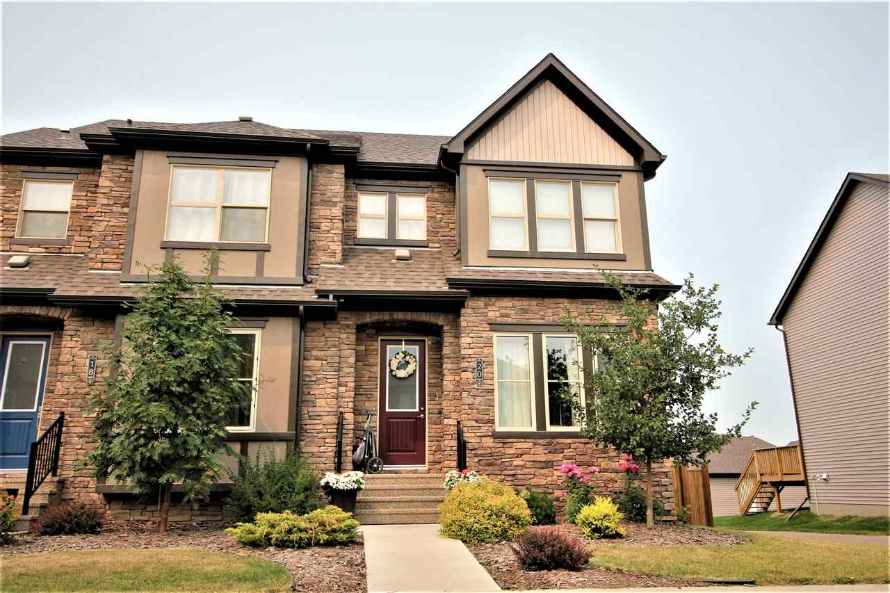 Main Photo: 20 GREENBURY Close: Spruce Grove House Half Duplex for sale : MLS(r) # E4074684