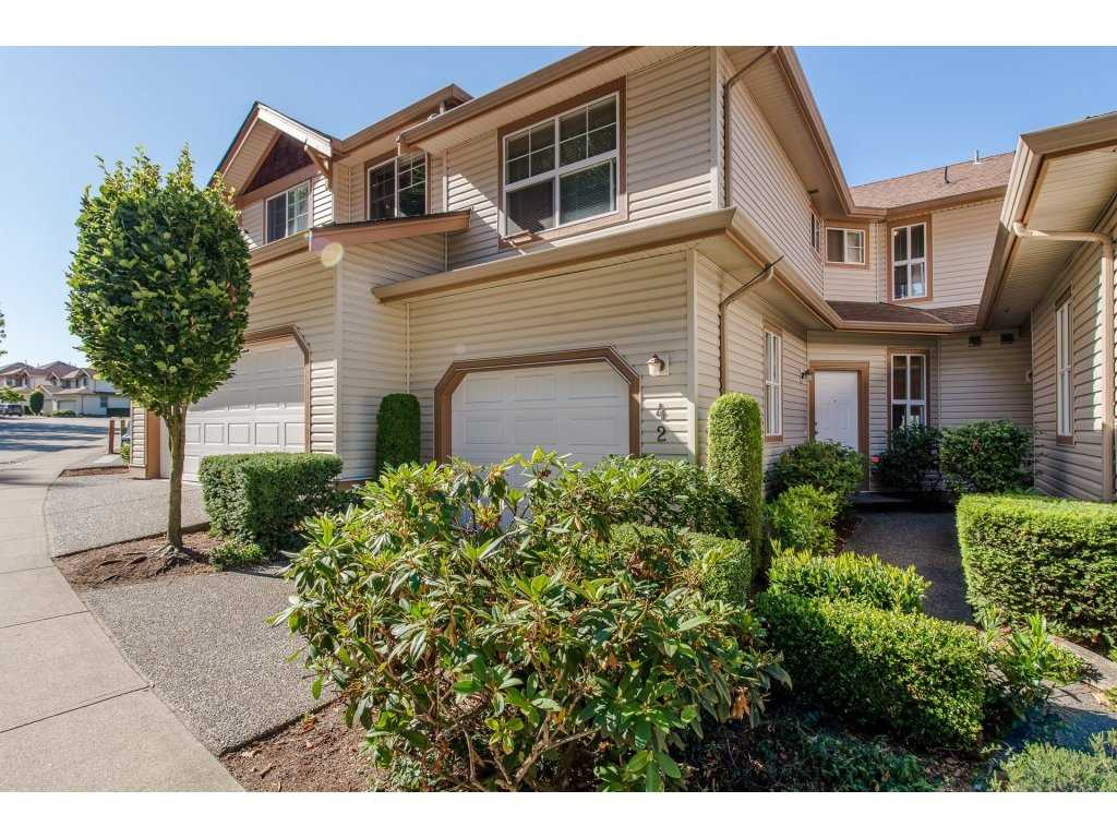 "Main Photo: 42 35287 OLD YALE Road in Abbotsford: Abbotsford East Townhouse for sale in ""The Falls"" : MLS® # R2192487"