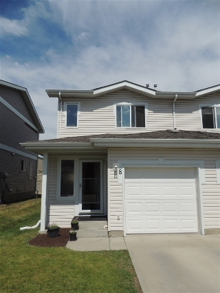 Main Photo: 8 130 HYNDMAN Crescent in Edmonton: Zone 35 House Half Duplex for sale : MLS® # E4075662