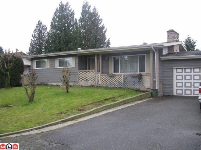 Main Photo: 2061 TOPAZ Street in Abbotsford: Abbotsford West House for sale : MLS(r) # F1200729