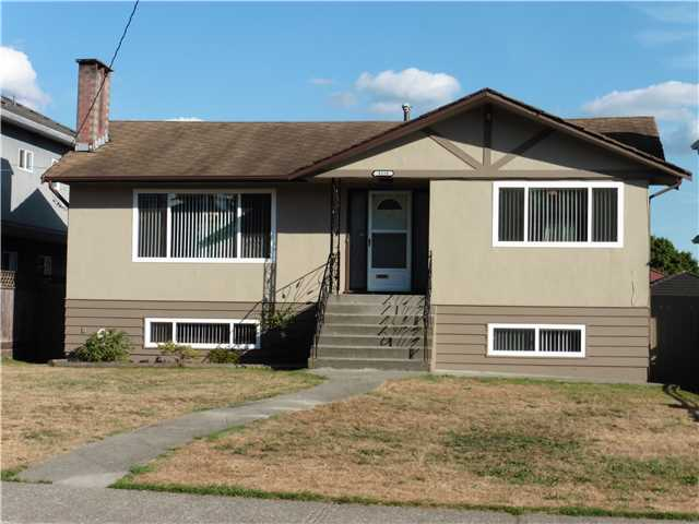 Main Photo: 8158 12TH Avenue in Burnaby: East Burnaby House for sale (Burnaby East)  : MLS® # V1137620