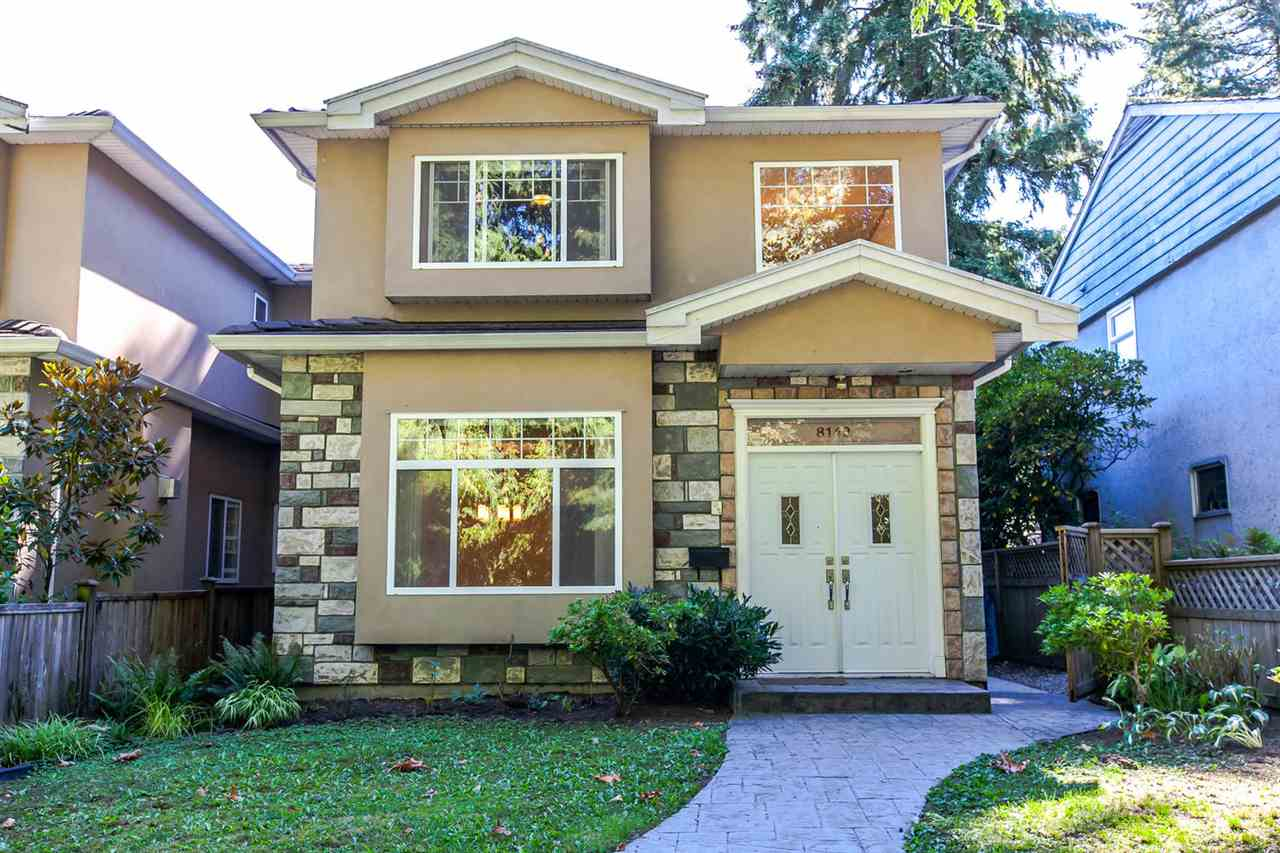 Main Photo: 8142 WEDGEWOOD Street in Burnaby: Burnaby Lake House 1/2 Duplex for sale (Burnaby South)  : MLS® # R2108883