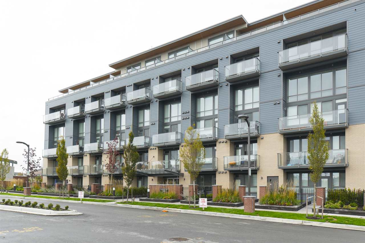 "Main Photo: 104 3090 GLADWIN Road in Abbotsford: Abbotsford West Condo for sale in ""Hudson's Loft"" : MLS®# R2118268"