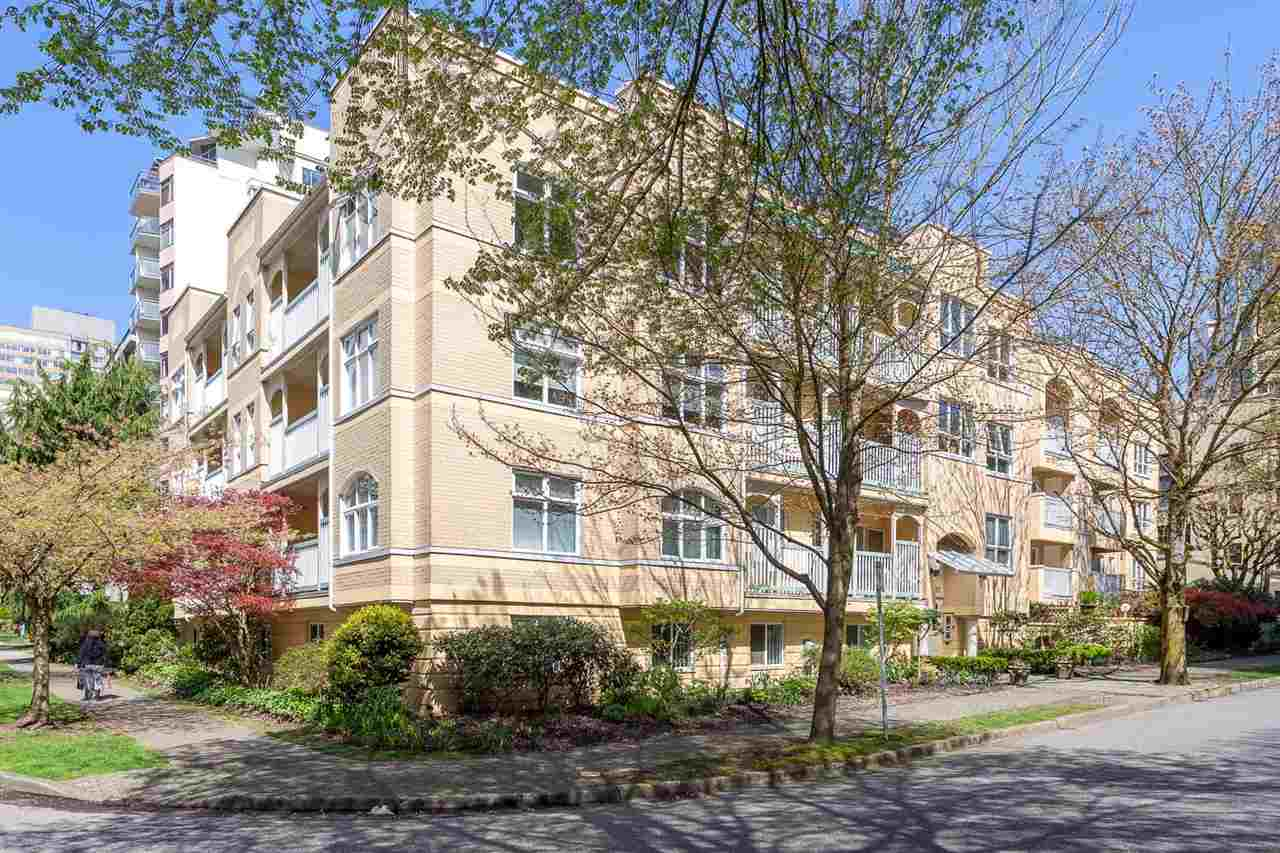 "Main Photo: 311 1125 GILFORD Street in Vancouver: West End VW Condo for sale in ""GILFORD COURT"" (Vancouver West)  : MLS® # R2158681"