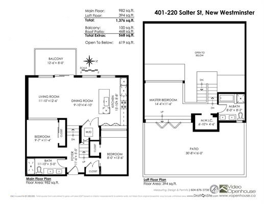 "Photo 20: 401 220 SALTER Street in New Westminster: Queensborough Condo for sale in ""GLASSHOUSE LOFTS"" : MLS® # R2159431"