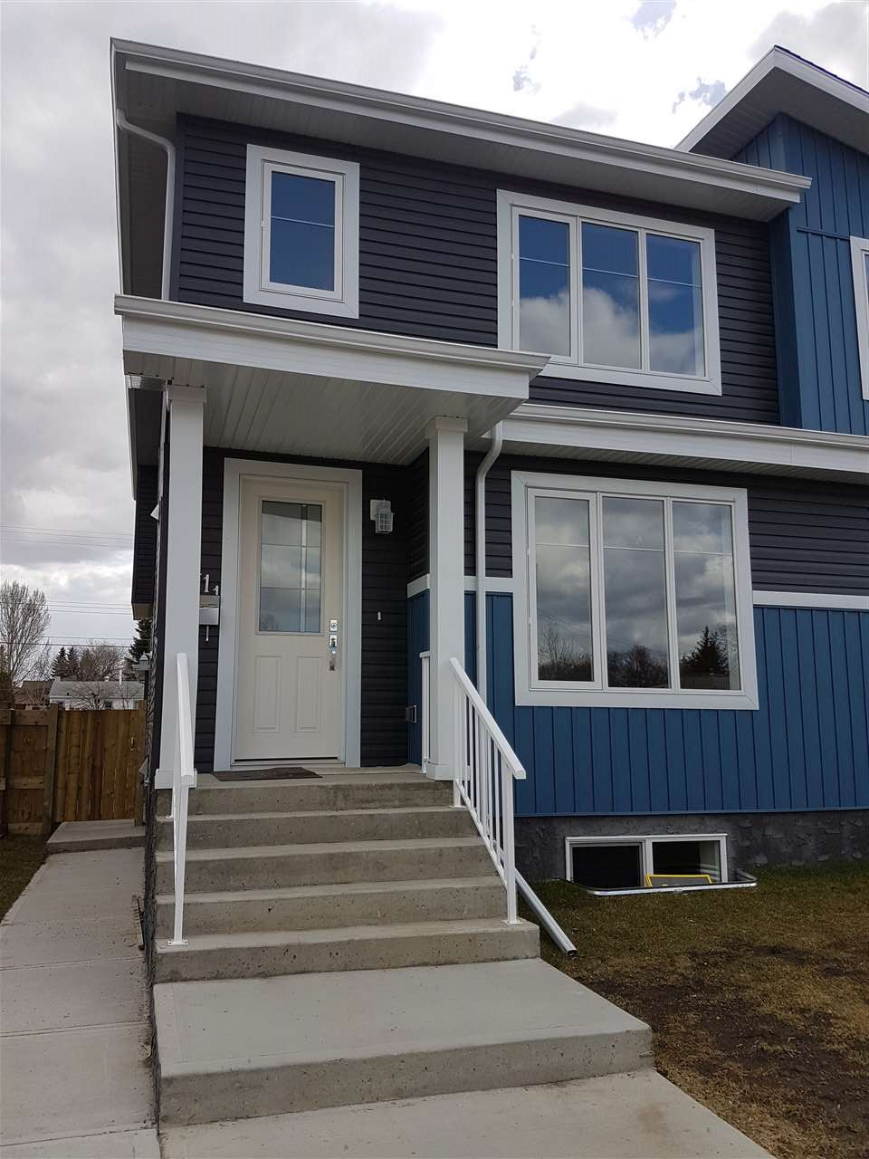 Main Photo: 15411 95 Avenue in Edmonton: Zone 22 House Half Duplex for sale : MLS(r) # E4061960