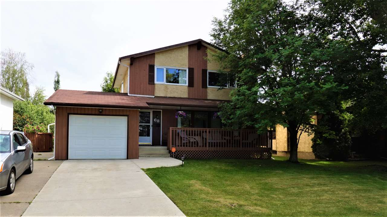 Main Photo: 68 AKINS Drive: St. Albert House for sale : MLS(r) # E4070169