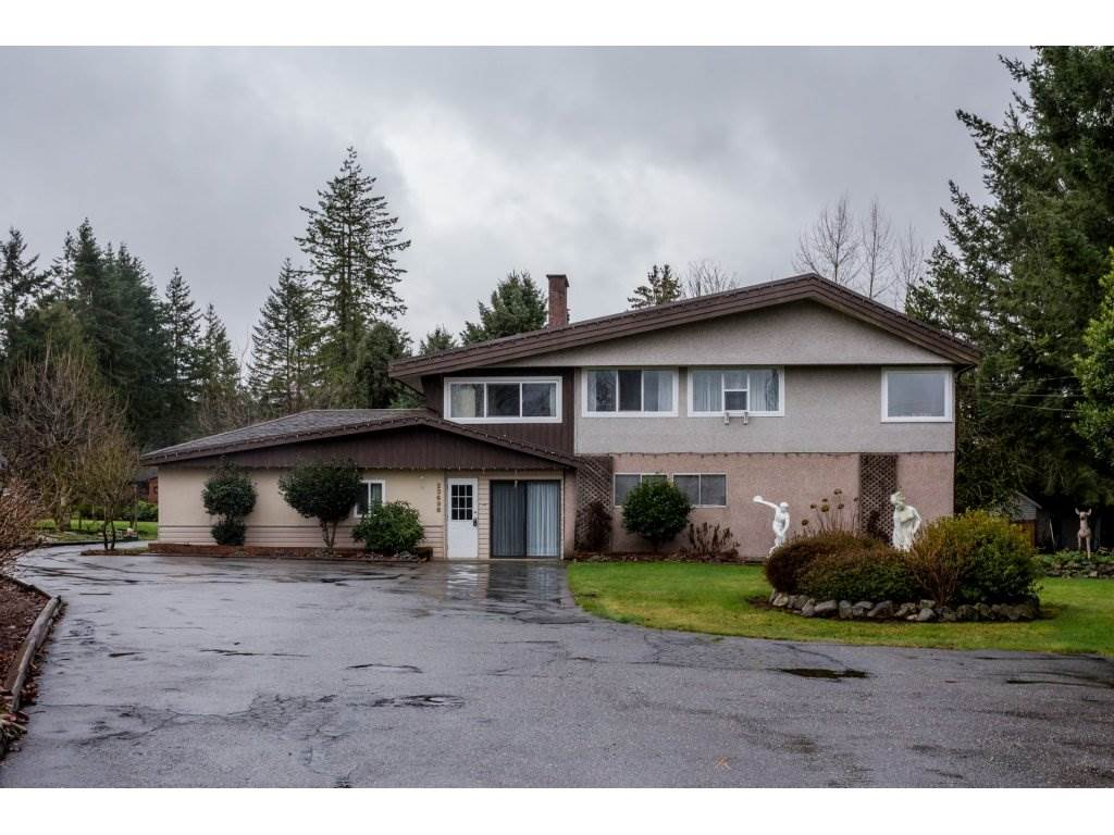 Main Photo: 23698 FRASER Highway in Langley: Campbell Valley House for sale : MLS®# R2237810